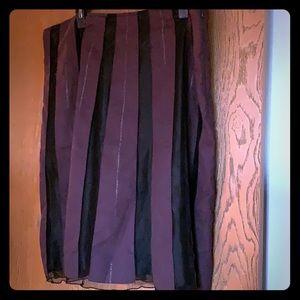 Vintage Old Navy Striped Pencil Skirt 18